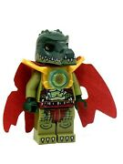 Lego Cragger The Legends Of Chima Minifig Cape Gold Armour 70006 70115 70104
