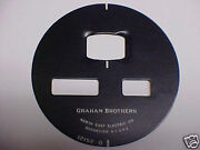 North East Electric Speedometer Face Graham Brothers Trucks 1020s
