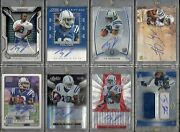 Ty Hilton Rc Auto Jersey Autograph Rookie Lot Of 8 Investment Colts Rare And Mint