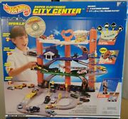 Hot Wheels Electric Center 1998 Track Set-new In Box Complete