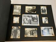 Vintage Photo Album Wwii Military Service 15 Pages 94 Photos 1940and039s