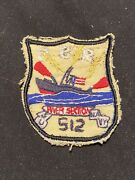 Vietnam War Us Navy Brown Water River Section 512 Patch