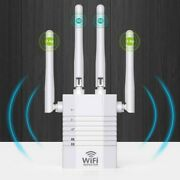 Wifi Repeater Wireless Range Extender Booster Internet Router 1200mbps Ethernet