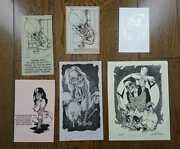 Pushead Fan Club Postcard Collection Collector Collectibles Free Shipping Rare