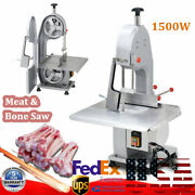 1500w Commercial Meat Bone Saw Frozen Meat Cutting Machine Electric Band Cutter