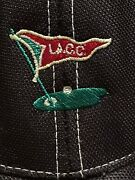 Los Angeles Country Club Lacc Imperial Golf Mesh Trucker Hat White Black Rare