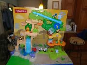 Fisher-price Little People Share And Care Safari Playset Rare- Store Desplay