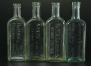Lot Dr Wb Caldwell's Syrup Pepsin Medicine Bottles Bottle Embossed Monticello Il