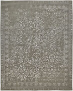 Feizy Bella Collection Area Rug Gray/silver 8and039 X 10and039