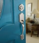 Kwikset Arlington Single Cylinder Handleset With Tustin Lever Featuring...