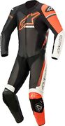 Coverall Motorcycle Alpinestars Gp Force Phantom Leather Suit 1 Pc Red Black