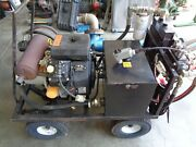 20 Hp Gas Auxiliary Power W/ Moyno Mud Pump Works Excellent