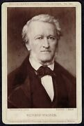Cabinet Photo Richard Wagner Composer Music 7120