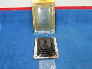 Dynamark 3 And 4 Speed Floor Shifter Boot With Stainless Steel Mount Plate New