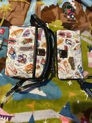 Disney Parks Dooney And Bourke Ink And Paint Crossbody Purse And Wallet Mickey