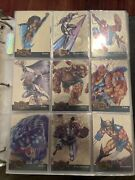 1995 Marvel Metal Complete 138 Card Set W/ All 18 Blasters And 18 Gold Blasters