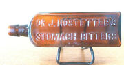 Dr J Hostetterand039s Stomach Bitters Embossed Bottle Agw And Y On Base