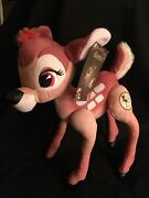 D23 Expo 2017 Bambi 75th Plush Doll In Hand Le 500 Rare Sold Out