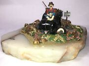 Ron Lee Clowns No Fishing Signed Numberedandnbsp33/250 Large Limited Very Rare
