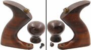 Founderand039s Grade Rosewood Hdls. For A Stanley No. 5 1/2 Plane-type 7-mjdtoolparts