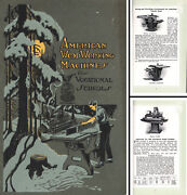 American Woodworking Co., Rochester, N.y. - Machines For Voc. Schools - 162 Pgs.