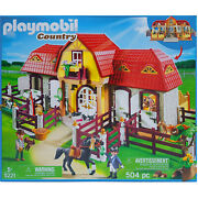Playmobil Country 5221 Large Horse Farm With Paddock Play Set Childrens Toy New