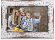 My Vintage Finds Rustic Farmhouse Photo Frame 5x7 White