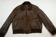 Vintage U.s.army Airforces Type A-2 Men's 90's Flight Jacket Leather Usa Size Xl