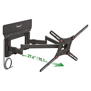 Barkan 13-90 Inch Tv Wall Mount With Integrated Amplified Hdtv Indoor Antenna