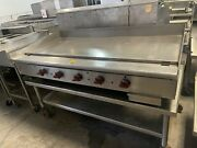 Wolf Agt60-1 60 Griddle With Stand Natural Gas