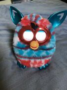 Furby Hasbro Festive Holiday Red/white/blue American Flag Sweater Edition