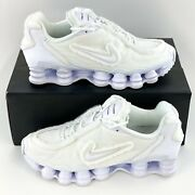 Nike Shox Tl Comme Des Garcons White Womenand039s Sneakers Shoes Cj0546 100