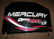 Mercury 150 Hp 2 Stroke Optimax Top Cowl Assembly Pn 852552a3 Fits 1998-2003
