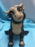 Vintage Ideal Walt Disney Ferdinand The Bull Toy, Composition Jointed Toy 1930's