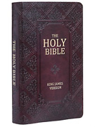 Kjv Giant Print Standard Red Letters With Thumb-indexing Br Us Import Book New