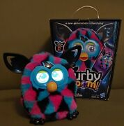 Furby Boom Black Pink Turquoise Tested And Working - See Details