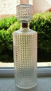 1959 Thatcher Glass Manufacturing Company Whiskey Decanter With Stopper