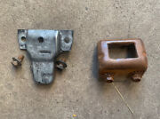 Trunk Latch And Striker Bracket Ford Mustang Fairlane Comet Falcon 1964 65 66