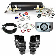 Ez Air Ride Dl58cd Deluxe Air Suspension Kit 1958-1960 Cadillac 2-way System