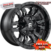 Fuel Off-road D595 Size 22x10 8x170 Offset -18mm Gloss Black Milled Set Of 4
