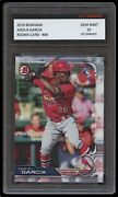 Adolis Garcia 2019 Bowman Topps 1st Graded 10 Rookie Card Rc St. Louis Cardinals