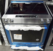 Kitchenaid Kseb900ess 30andprime Stainless Steel Electric Slide-in Convection Range