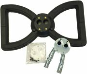 Broilmaster Gas Grill 4 Series Cast Iron Bow Tie Burner W/ Curved Tubes 17.25