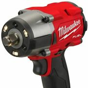 Milwaukee M18 Gen2 Mid-torque 1/2and039and039 Friction Anneau Impact Wrench And 12ah Battery