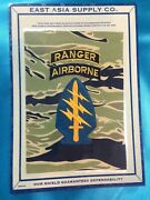 Repro Vietnam Special Forces Patch Ranger Airborne Tab Us Army