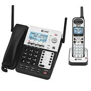 Atandt Sb67138 4-line Dect 6.0 Corded / Cordless Phone System 1 Cordless