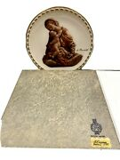 Titian Madonna 1978 Gorham China Signed Wall Plate Limited Edition 8.5 No. 849