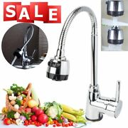 Kitchen Tap Pull Down Spray Faucet Sink Mixer Basin 360anddeg Swivel Hot And Cold Spout