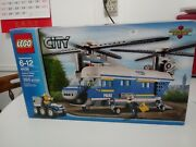 Lego 4439 Police Heavy-duty Helicopter, 2012 Retired, Complete