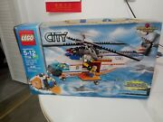 Lego City Coast Guard Helicopter And Life Raft Set 7738☆☆complete And Box